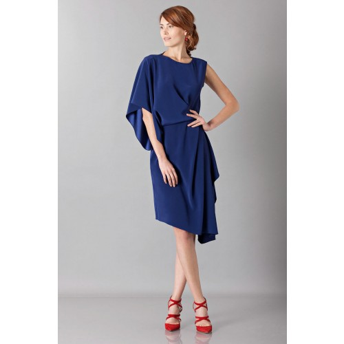 Vendita Abbigliamento Usato FIrmato - Dress with asymmetrical sleeves - Albino - Drexcode -5