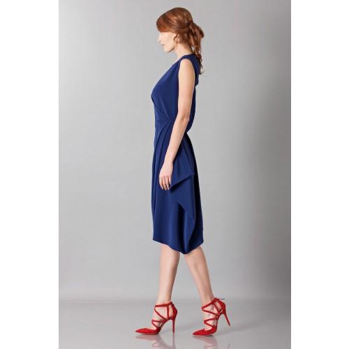 Vendita Abbigliamento Usato FIrmato - Dress with asymmetrical sleeves - Albino - Drexcode -4