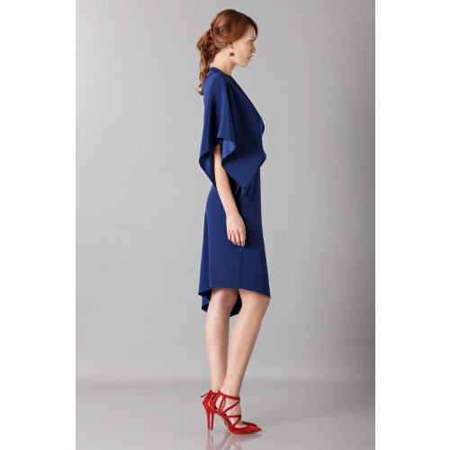 Vendita Abbigliamento Usato FIrmato - Dress with asymmetrical sleeves - Albino - Drexcode -2