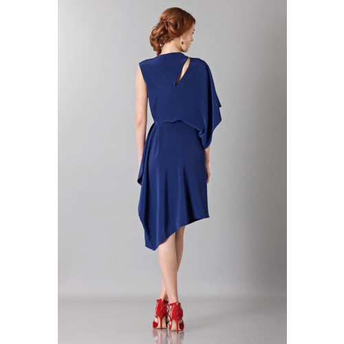 Vendita Abbigliamento Usato FIrmato - Dress with asymmetrical sleeves - Albino - Drexcode -3