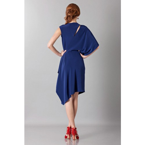 Vendita Abbigliamento Usato FIrmato - Dress with asymmetrical sleeves - Albino - Drexcode -6