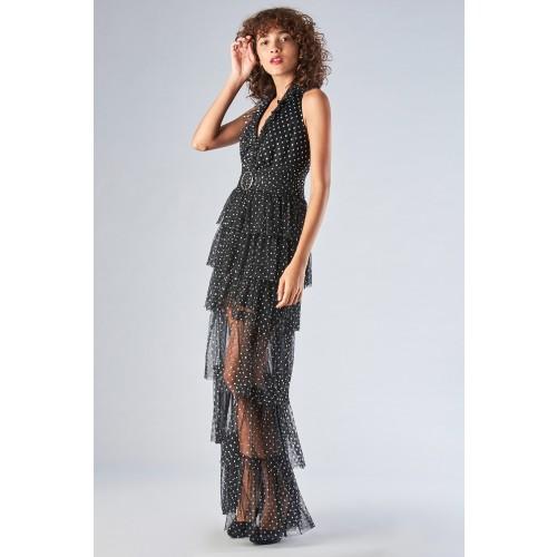 Vendita Abbigliamento Usato FIrmato - Asymmetric polka dot dress with ruffles - Forever unique - Drexcode -7