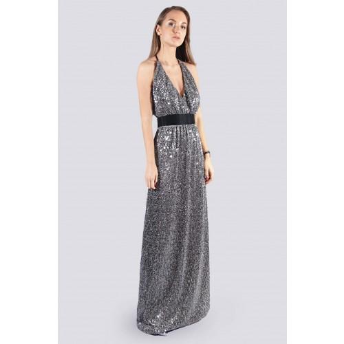 Vendita Abbigliamento Usato FIrmato - Abito lungo con micro-paillettes - DREX for you - Drexcode -1