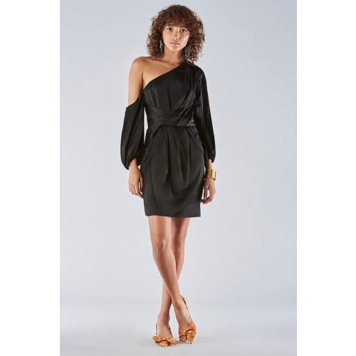 Vendita Abbigliamento Usato FIrmato - One-shoulder dress with off-shoulder sleeve - Amur - Drexcode -8