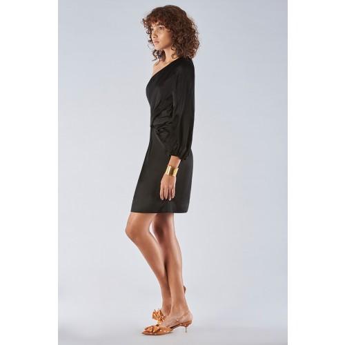 Vendita Abbigliamento Usato FIrmato - One-shoulder dress with off-shoulder sleeve - Amur - Drexcode -13