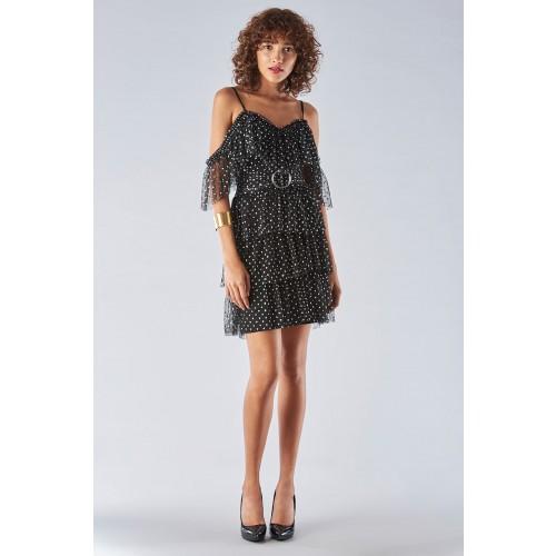 Vendita Abbigliamento Usato FIrmato - Off shoulder dress with ruffles - Forever unique - Drexcode -6