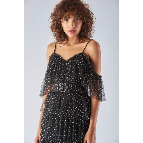 Vendita Abbigliamento Usato FIrmato - Off shoulder dress with ruffles - Forever unique - Drexcode -7