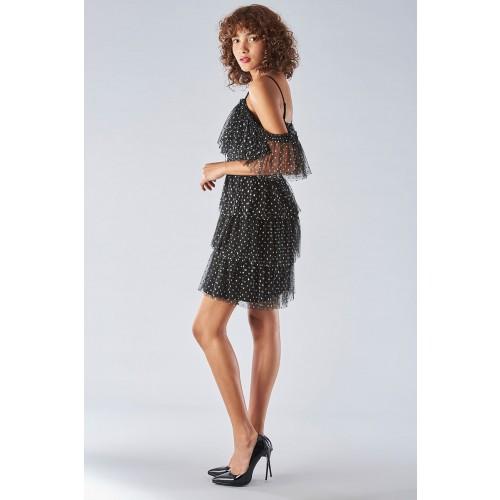 Vendita Abbigliamento Usato FIrmato - Off shoulder dress with ruffles - Forever unique - Drexcode -8