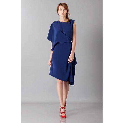 Vendita Abbigliamento Usato FIrmato - Dress with asymmetrical sleeves - Albino - Drexcode -1