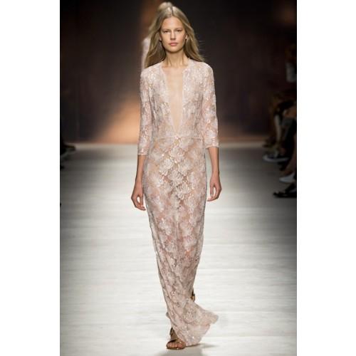 Vendita Abbigliamento Usato FIrmato - Long dress with sequin sale - Blumarine - Drexcode -1