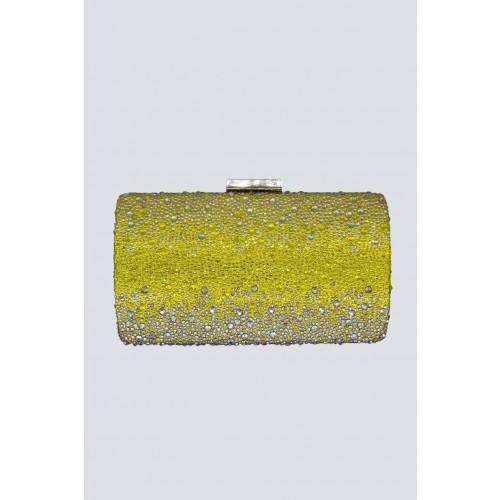 Vendita Abbigliamento Usato FIrmato - Clutch degrade citrine - Anna Cecere - Drexcode -3