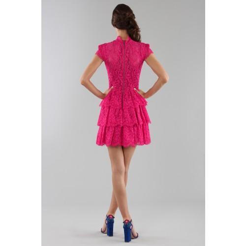 Vendita Abbigliamento Usato FIrmato - Fuchsia lace dress with skir - Alice+Olivia - Drexcode -8