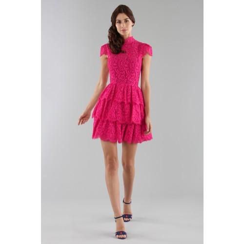Vendita Abbigliamento Usato FIrmato - Fuchsia lace dress with skir - Alice+Olivia - Drexcode -2