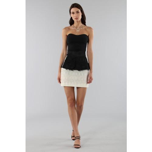Vendita Abbigliamento Usato FIrmato - Embroidered skirt with volant - Emanuel Ungaro - Drexcode -1