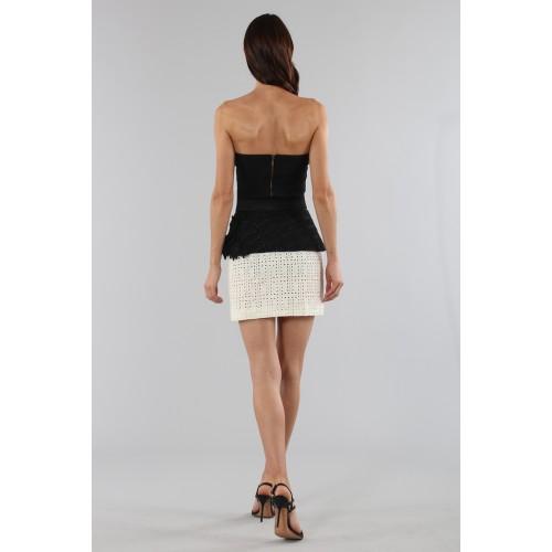 Vendita Abbigliamento Usato FIrmato - Embroidered skirt with volant - Emanuel Ungaro - Drexcode -7