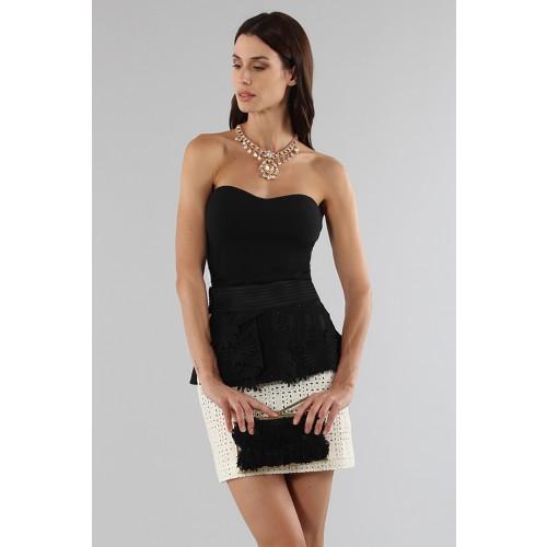 Vendita Abbigliamento Usato FIrmato - Embroidered skirt with volant - Emanuel Ungaro - Drexcode -2