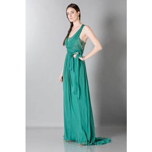 Vendita Abbigliamento Usato FIrmato - Empire waist silk dress - Alberta Ferretti - Drexcode -4