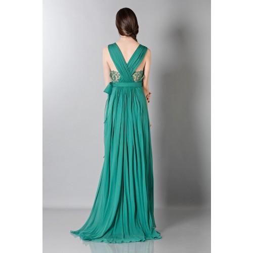 Vendita Abbigliamento Usato FIrmato - Empire waist silk dress - Alberta Ferretti - Drexcode -1
