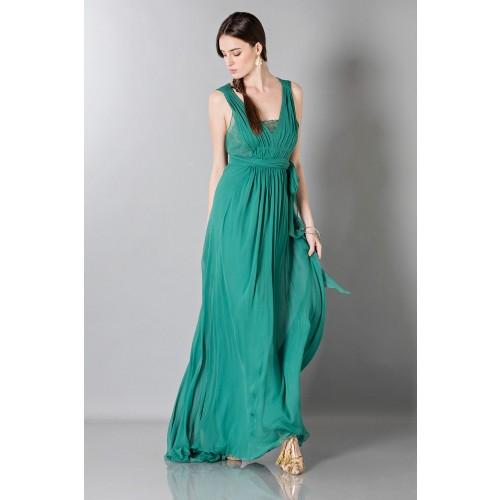 Vendita Abbigliamento Usato FIrmato - Empire waist silk dress - Alberta Ferretti - Drexcode -2