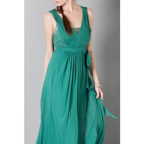 Vendita Abbigliamento Usato FIrmato - Empire waist silk dress - Alberta Ferretti - Drexcode -6
