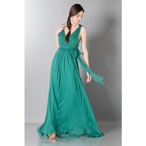 Vendita Abbigliamento Usato FIrmato - Empire waist silk dress - Alberta Ferretti - Drexcode -3