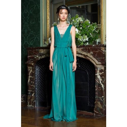 Vendita Abbigliamento Usato FIrmato - Empire waist silk dress - Alberta Ferretti - Drexcode -7