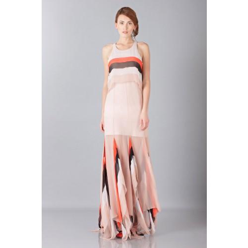 Vendita Abbigliamento Usato FIrmato - Striped floor-length dress - Blumarine - Drexcode -6