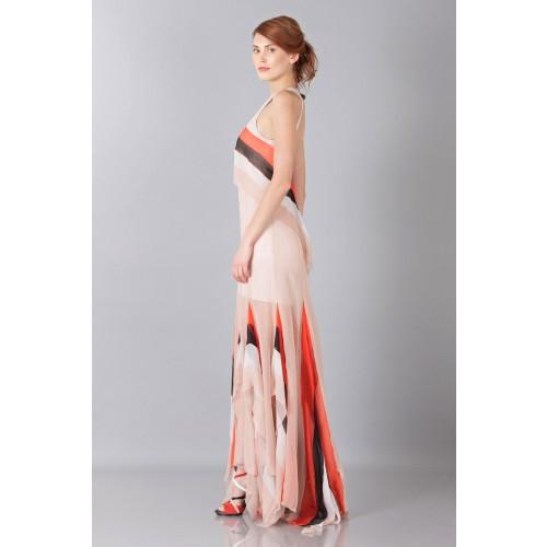 Vendita Abbigliamento Usato FIrmato - Striped floor-length dress - Blumarine - Drexcode -7