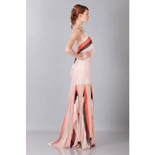 Vendita Abbigliamento Usato FIrmato - Striped floor-length dress - Blumarine - Drexcode -2