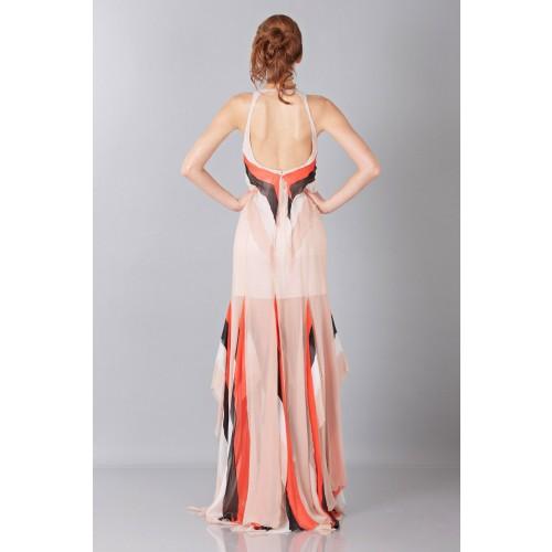 Vendita Abbigliamento Usato FIrmato - Striped floor-length dress - Blumarine - Drexcode -8