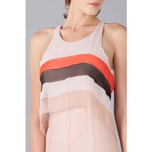 Vendita Abbigliamento Usato FIrmato - Striped floor-length dress - Blumarine - Drexcode -5