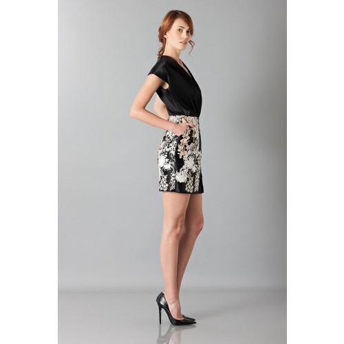 Vendita Abbigliamento Usato FIrmato - Embroidered black dress - Blumarine - Drexcode -5