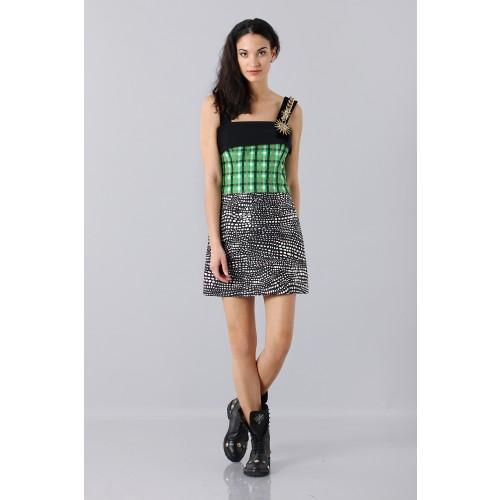Vendita Abbigliamento Usato FIrmato - Patterned strap dress - Fausto Puglisi - Drexcode -3