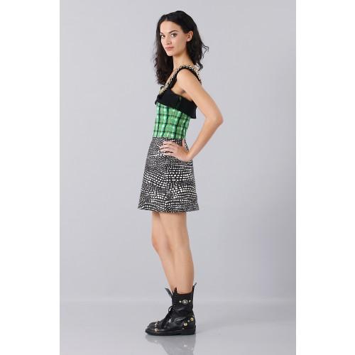 Vendita Abbigliamento Usato FIrmato - Patterned strap dress - Fausto Puglisi - Drexcode -5