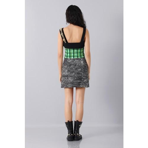 Vendita Abbigliamento Usato FIrmato - Patterned strap dress - Fausto Puglisi - Drexcode -9