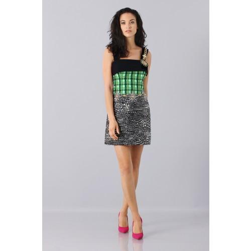 Vendita Abbigliamento Usato FIrmato - Patterned strap dress - Fausto Puglisi - Drexcode -7