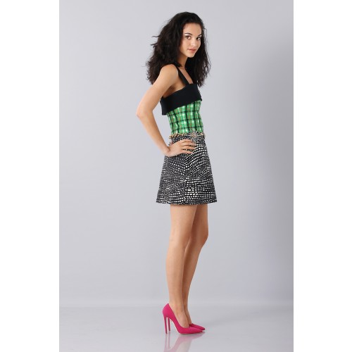 Vendita Abbigliamento Usato FIrmato - Patterned strap dress - Fausto Puglisi - Drexcode -8