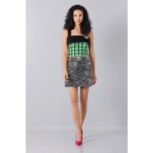 Vendita Abbigliamento Usato FIrmato - Patterned strap dress - Fausto Puglisi - Drexcode -4