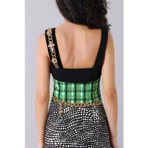 Vendita Abbigliamento Usato FIrmato - Patterned strap dress - Fausto Puglisi - Drexcode -2