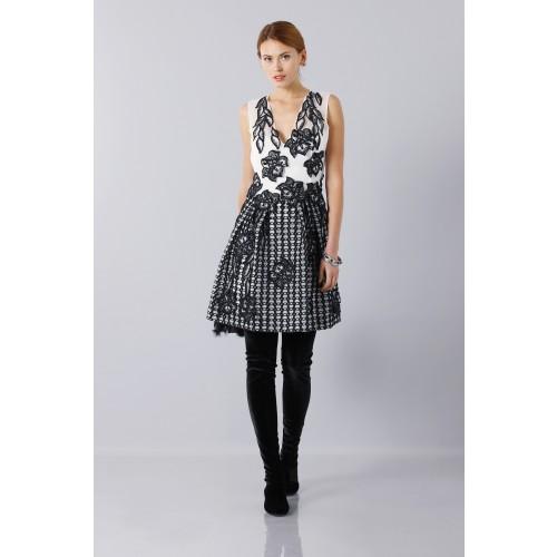 Vendita Abbigliamento Usato FIrmato - Silk and mohair dress - Alberta Ferretti - Drexcode -10