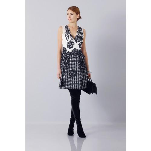 Vendita Abbigliamento Usato FIrmato - Silk and mohair dress - Alberta Ferretti - Drexcode -3