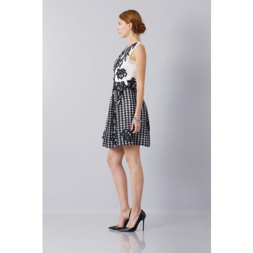 Vendita Abbigliamento Usato FIrmato - Silk and mohair dress - Alberta Ferretti - Drexcode -2