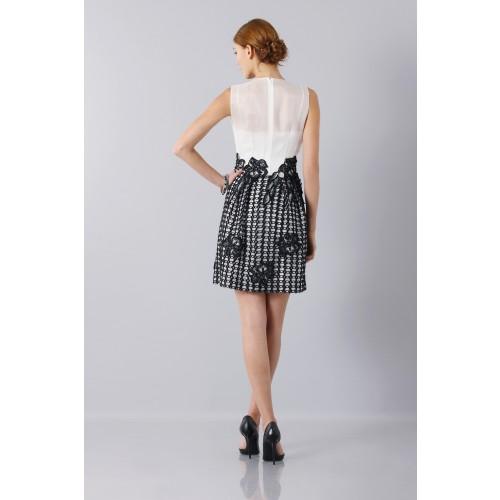 Vendita Abbigliamento Usato FIrmato - Silk and mohair dress - Alberta Ferretti - Drexcode -11