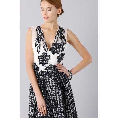 Vendita Abbigliamento Usato FIrmato - Silk and mohair dress - Alberta Ferretti - Drexcode -5