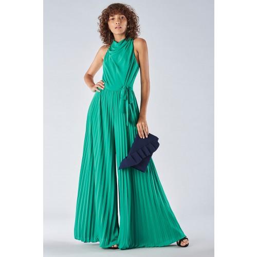Vendita Abbigliamento Usato FIrmato - Jumpsuit with pleated leg - Halston - Drexcode -12