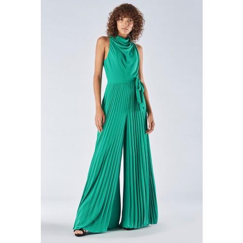Vendita Abbigliamento Usato FIrmato - Jumpsuit with pleated leg - Halston - Drexcode -13