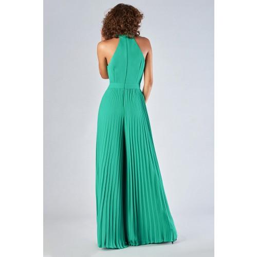 Vendita Abbigliamento Usato FIrmato - Jumpsuit with pleated leg - Halston - Drexcode -14