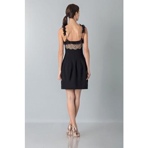 Vendita Abbigliamento Usato FIrmato - Dress with shoulder straps of processed lace - Blumarine - Drexcode -5