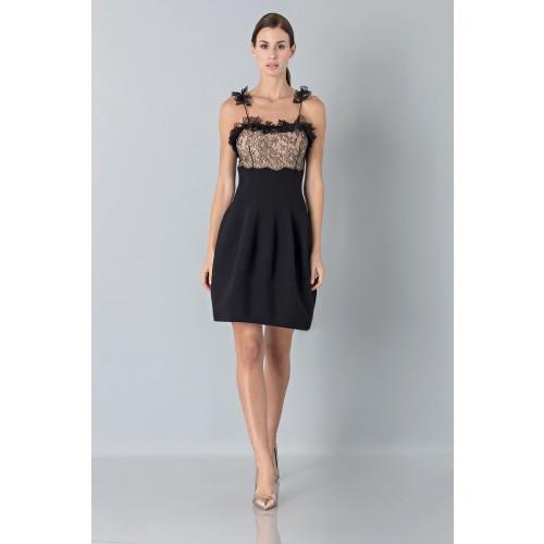 Vendita Abbigliamento Usato FIrmato - Dress with shoulder straps of processed lace - Blumarine - Drexcode -2