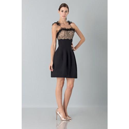 Vendita Abbigliamento Usato FIrmato - Dress with shoulder straps of processed lace - Blumarine - Drexcode -1